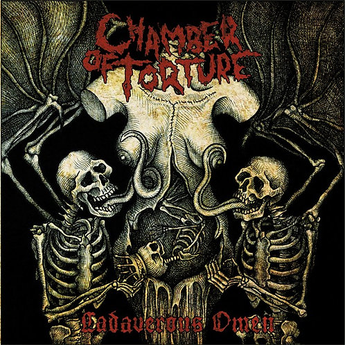 Chamber Of Torture – Cadaverous Omen CD
