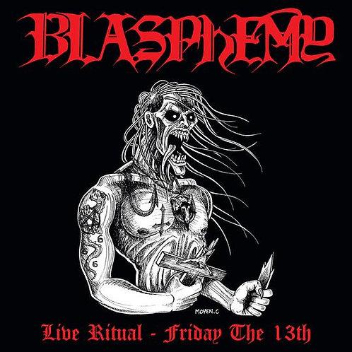 Blasphemy - Live Ritual - Friday the 13th Die Hard LP (Red Vinyl)