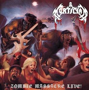 Mortician - Zombie Massacre Live! 2xLP (Black Vinyl)