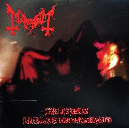 Mayhem - The Return... Live in Bischofswerda Anno 1997 Digisleeve-CD