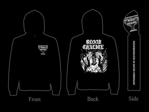 Blood Chalice - Sepulchral Chants of Self-Destruction ZIP HOODIE
