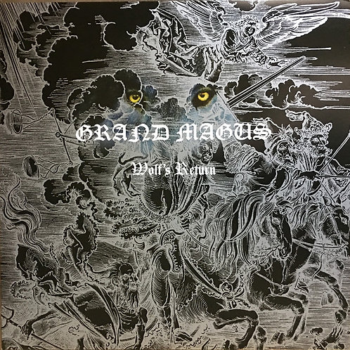 Grand Magus - Wolf's Return LP (Silver Vinyl)