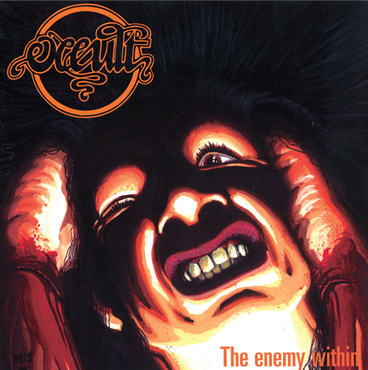 Occult - The Enemy Within LP (Orange Vinyl)