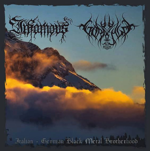 Gorrenje / Infamous - Italian - German Black Metal Brotherhood CD
