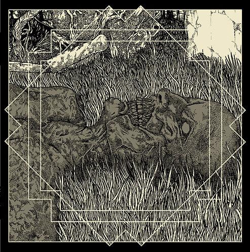 "Auroch / Mitochondrion - In Cronian Hour 7""EP (Black Vinyl)"