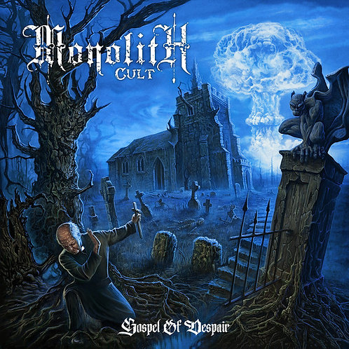 Monolith Cult – Gospel Of Despair LP (Blue Vinyl)