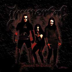 Immortal - Damned in Black CD