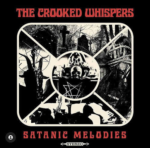 The Crooked Whispers - Satanic Melodies PIC-LP/SHIRTS BUNDLE (PRE-ORDER