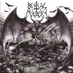 Bestial Mockery – Slaying The Life LP (Purple/Black Splatter Vinyl)