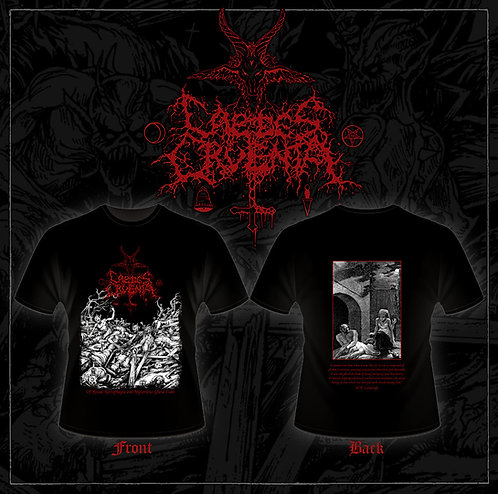 """Caedes Cruenta - """"Of Ritual Necrophagia and Mysterious Ghoul Cults"""" SHIRT"""