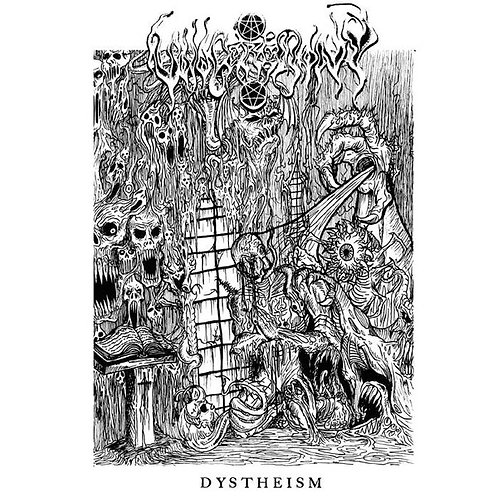 "Void Ceremony ‎– Dystheism 7""EP"
