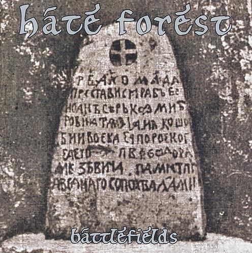 Hate Forest - Battlefields CD
