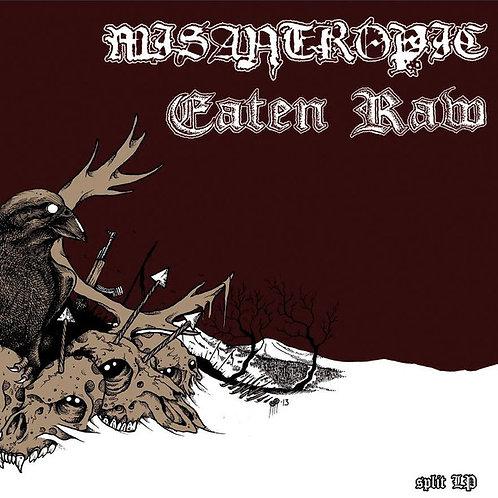 Misantropic / Eaten Raw - Split LP