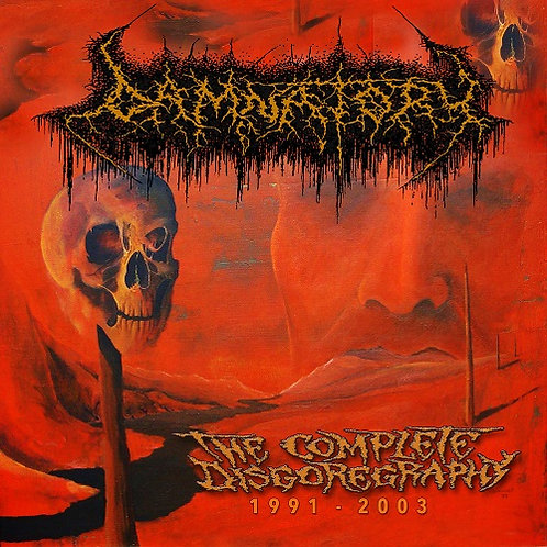 Damnatory - The Complete Disgoregraphy 1991-2003 CD