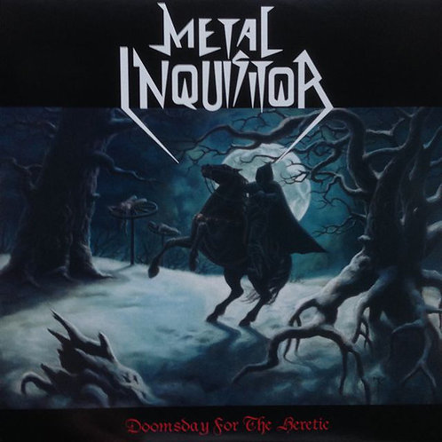 Metal Inquisitor - Doomsday For The Heretic LP (White/Translucent Vinyl)