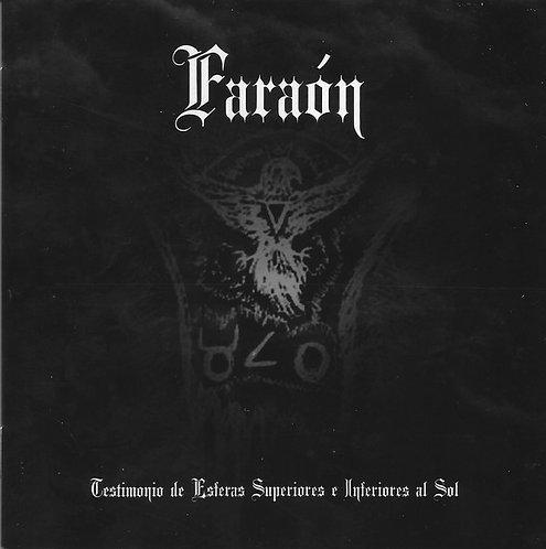 Faraón – Testimonio De Esferas Superiores E Inferiores Al Sol CD