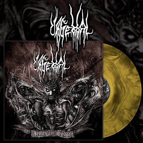 Urgehal - Aeons in Sodom 2xLP (Yellow Galaxy Vinyl)