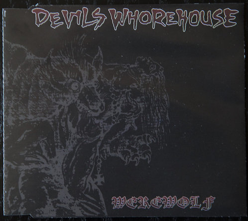 Devils Whorehouse - Werewolf CD-SINGLE