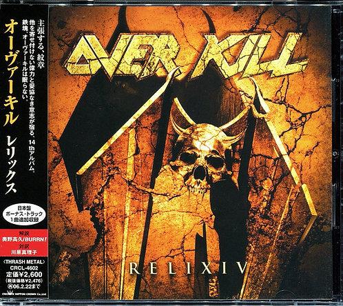 Overkill – ReliXIV (Japan) CD