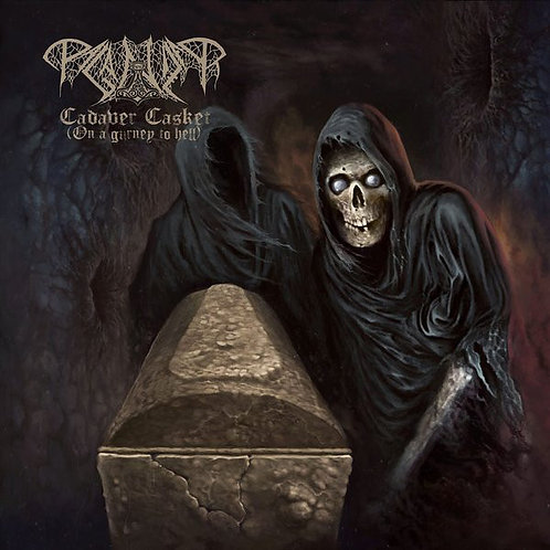 Paganizer - Cadaver Casket (On A Gurney To Hell) MLP (Gold Vinyl)