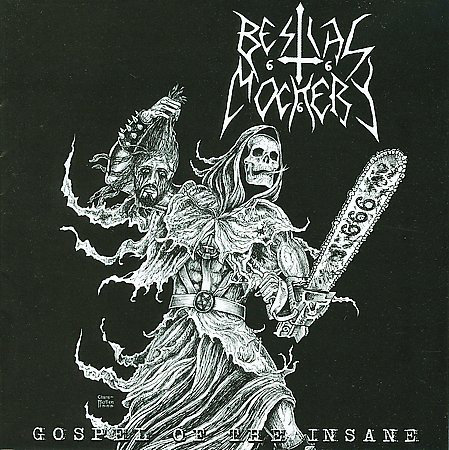 Bestial Mockery - Gospel Of The Insane LP
