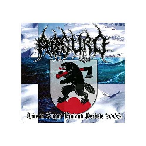 Absurd - Live in Suomi Finland Perkele 2008 DIGI-CD