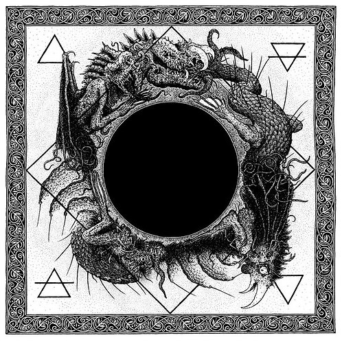 Ysengrin / Black Grail - :Nigrivm.Nigrivs.Nigro: LP (Clear Vinyl)