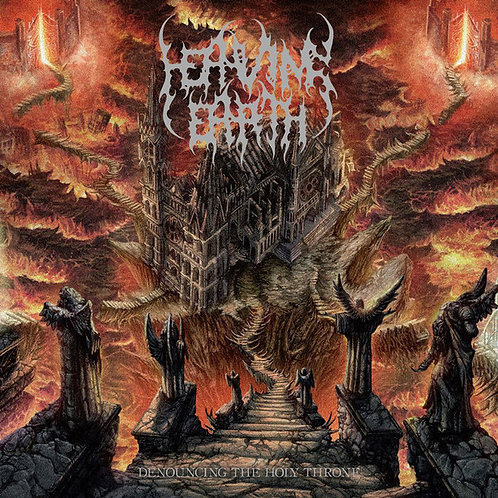 Heaving Earth ‎– Denouncing The Holy Throne CD