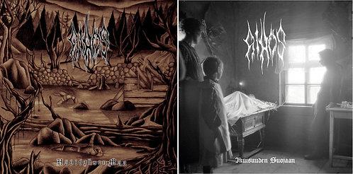 Aihos - Hävityksen Maa & Ikuisuuden Suojaan 2 LP BUNDLE