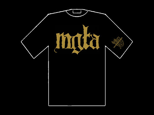 Mgla - Gold logo SHIRT