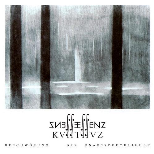 Essenz – KVIITIIVZ - Beschwörung Des Unaussprechlichen CD