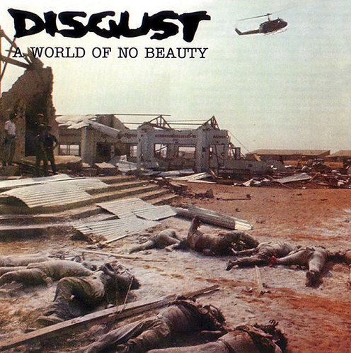 Disgust ‎– A World Of No Beauty 2xLP