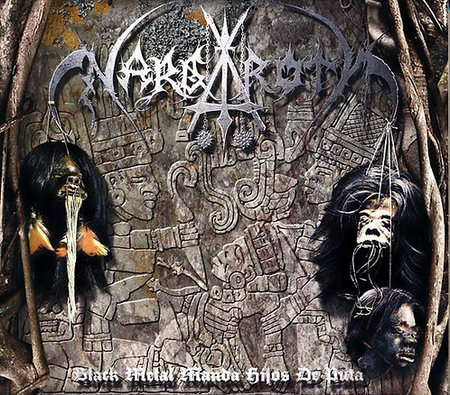 Nargaroth - Black Metal Manda Hijos de Puta LP (Transparent Green Vinyl)