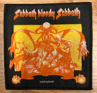 Black Sabbath - Sabbath Bloody Sabbath PATCH