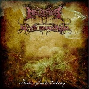 Malfeitor / Birch Mountain - Dawn of Silent Decay CD