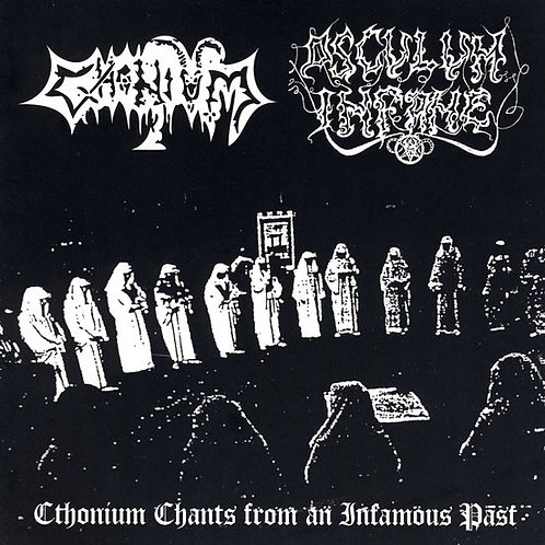 Cthonium / Osculum Infame ‎– Cthonium Chants From An Infamous Past CD