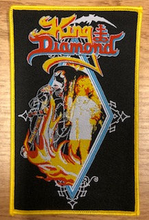 King Diamond (yellow board) PATCH