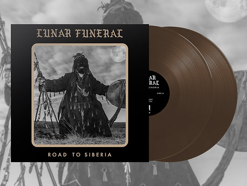 Lunar Funeral - Road to Siberia 2xLP (Brown Vinyl)