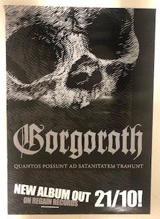 Gorgoroth - Quantos Possunt ad Satanitatem Trahunt A2 POSTER