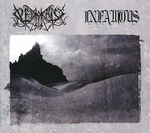 Nekrokrist SS / Infamous - Split DIGIFILE-CD