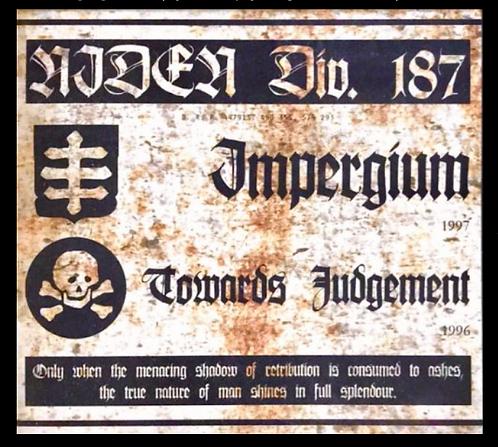 Niden Div 187 - Impergium / Towards Judgement 2xCD BOX