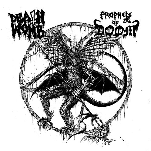 """Deathwomb / Prophets of Doom - Split 7""""EP"""