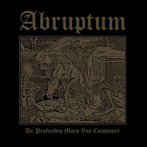 Abruptum - De Profundis Mors Vas Cousumet LP