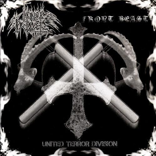 """Inner Helvete / Front Beast – United Terror Division 7""""EP"""