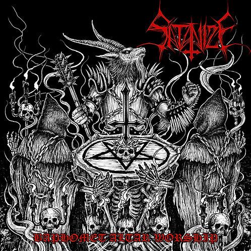 Satanize - Baphomet Altar Worship CD/LP BUNDLE (PRE-ORDER)