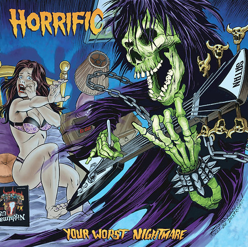 Horrific ‎– Your Worst Nightmare Digi-CD