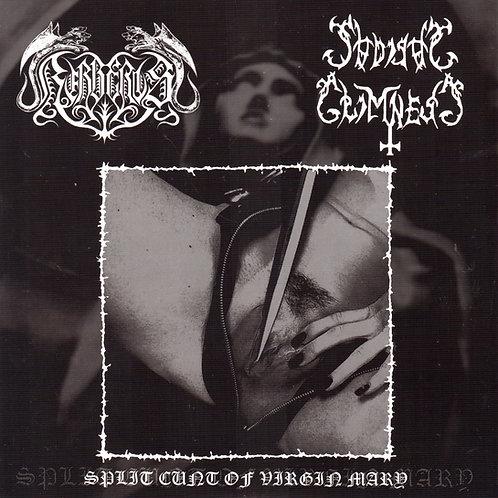 "Kerberos / Sadistic Grimness – Split Cunt Of Virgin Mary 7""EP"