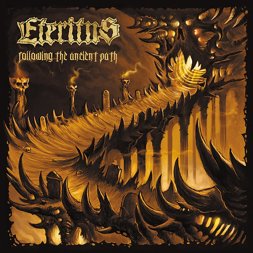 Eteritus - Following The Ancient Path CD