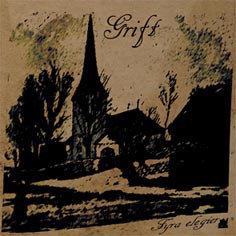 Grift – Fyra Elegier CD