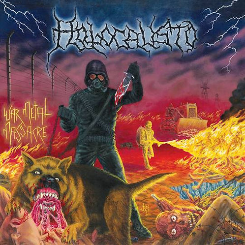 Holocausto - War Metal Massacre LP